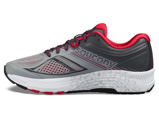 saucony Guide 10 - Mujer - gris/rosa